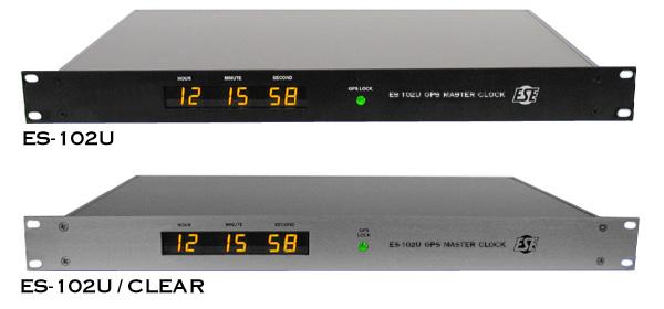 ES-102U GPS Based Time Code Generator / Master Clock