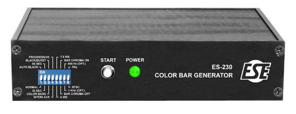 Color Bar Generator : Es ntsc pal color bar generator